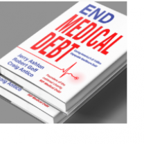 White book with words End Medical Debt