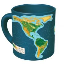 Mug with the earth on it