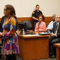 Diona Clark Gives Court Testimony