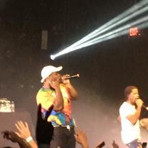 Rapper singing