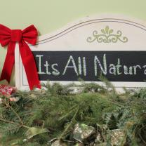 It's All Natural sign