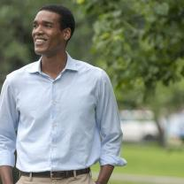 Actor portraying Obama
