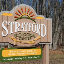 Stratford Ecological Center sign