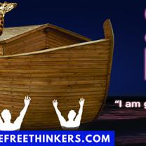 Billboard with ark
