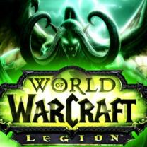 World of Warcraft Legion logo with demon