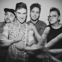 Walk the Moon group