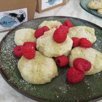 Matcha Masa Cookies