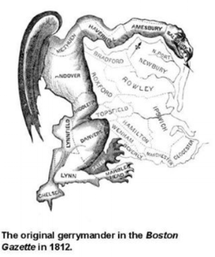 Gerrymandering image