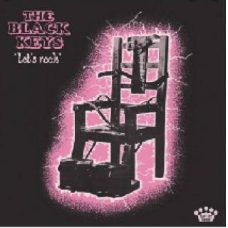Electric chair on cover of Black Keys album