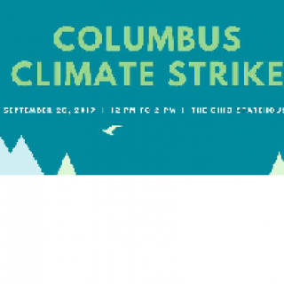 Words Columbus Climate Strike
