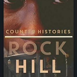 Close up of a black man's face and the words Counter Histories Rock Hill