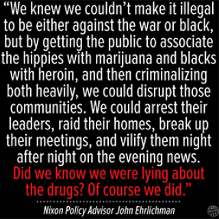 Quote from John Ehrlichman