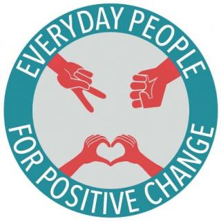 Everyday people for positive change logo