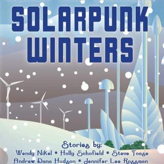 Book cover of Solarpunk Winters