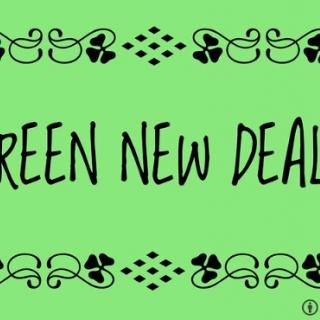 Words Green New Deal