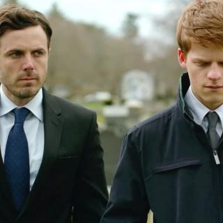 Lee Chandler (Casey Affleck, left) has a difficult relationship with nephew Patrick (Lucas Hedges) in Manchester by the Sea.