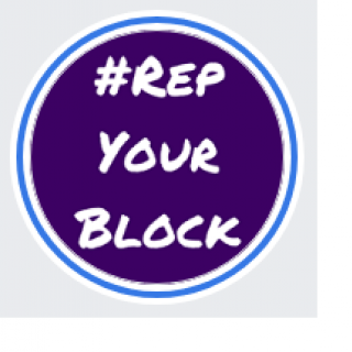 Rep your block logo