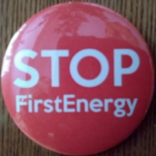Button that says STOP First Energy