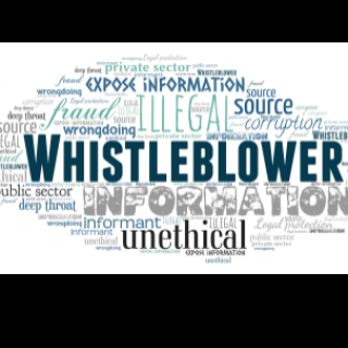 Word cloud for Whistleblower