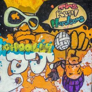 Graffiti looking album cover