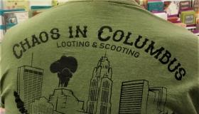 Chaos in Columbus T shirt